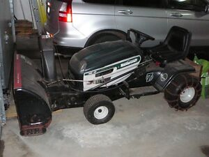Riding Tractor Snow Blower