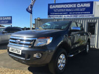 2015 15 FORD RANGER 2.2TDCi ( 150PS ) ( EU5 ) 4x4 XLT NO VAT - SERVICED - MOT -