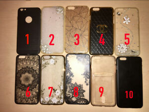 CHEAP 10/10 CONDITION IPHONE 6/6S PLUS CASES