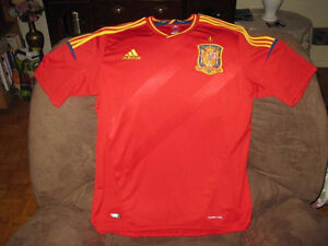 BRAND NEW UEFA EURO 2012 SPAIN SOCCER JERSEY