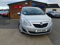 2011 Vauxhall/Opel Meriva 1.7CDTi 16v ( 130ps ) ( a/c ) S PX WELCOME