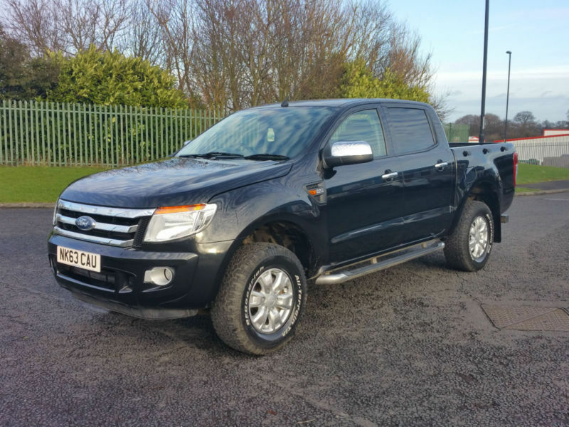 63 Plate Ford Ranger 2.2TDCi ( 150PS ) ( EU5 ) 4x4 XLT Full service history