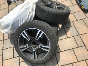205/55/R16 Bridgestone Blizzak with Rims