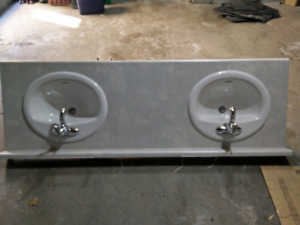 Brand new counters , sinks ,faucets