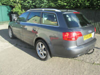 Audi A4 Avant 3.0TDI auto 2006MY quattro SE estate top spec