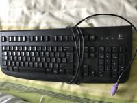 Plug in keyboard