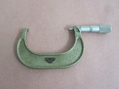 Vis Poland Micrometer 3-4 .0001 Mic Made In Poland