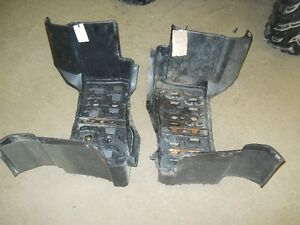 yamaha grizzly 660 , running boards , foot rests