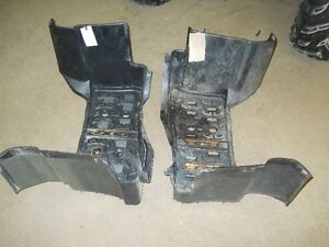 yamaha grizzly 660 , running boards, foot rests, parting it out