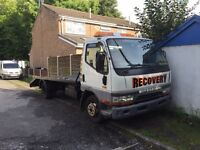Mitsubishi canter 2.8td recovery truck beaver tail 3.5 ton