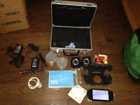 HUGE PSP 1001 BUNDLE 18 movies and 5 games+ LOTS OF EXTRAS