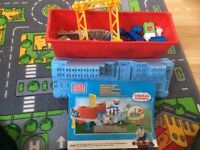 Mega blocks Thomas the tank playset