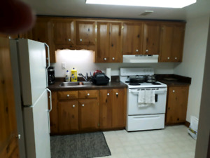 Out of town opg contract shared 2 bedroom basement apt good valu