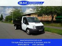 2014 Ford Transit 2.2 350 DRW 99 BHP TIPPER F/S/T CHASSIS CAB Diesel Manual