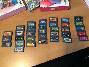 Game Boy Advance games.