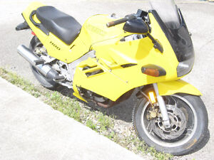 1993 suzuki gsx-1100 katana theft repo parts bike