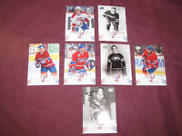 Montreal Canadiens Centennial set -- Parallel 100 insert cards