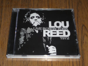 I have a Lou Reed CD Live in New York 1972, SEALED.