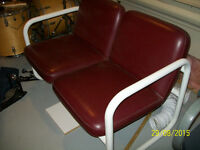 """Office chairs, desk, leather bench... """"Make an offer for all"""""""