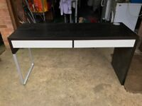 Ikea Desk with two drawers
