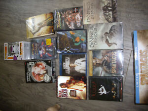 DVDS-BRAND NEW, STILL IN ORIGINAL PACKAGE Movies, games, etc