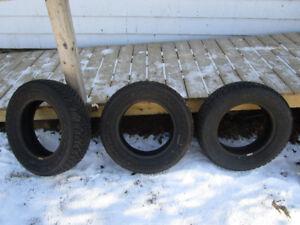 3 Goodyear Nordic Winter Tires