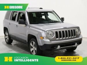 2017 Jeep Patriot High Altitude Edition 4X4 CUIR TOIT MAGS