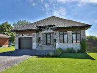 Superbe maison plain-pied 2012 à St-Mathieu clé en main !!!