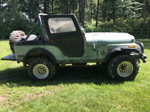 1979 Jeep CJ5 - Salmon Arm