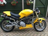 Ducati Monster M750 cafe racer immaculate condition 11k miles