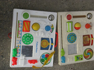 vintage Fisher Price activity centers Strathcona County Edmonton Area image 1