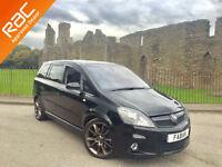 2007 Vauxhall Zafira VXR 7 Seater **Full Service History - Keyless - Xenon's**