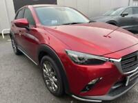 2018 Mazda CX-3 2.0 Sport Nav + 5dr Auto [Safety + Leather Pack] Hatchback Petro