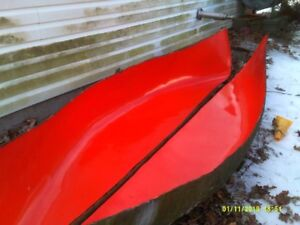 12 ft canoe mold, 34 inch beam at middle. Make your own canoe