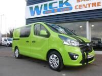 2014 Vauxhall VIVARO 2900 CDTI SPORTIVE 140ps COMBI/CREWVAN Manual Crew Van