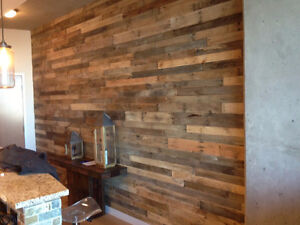 Exclusive! 10% off Reclaimed Wood Accent Wall! Cambridge Kitchener Area image 5