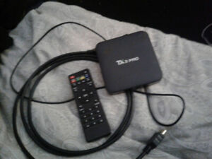 TX3 PRO Android Box for sale.Comes with Remote,Cords/Cables.