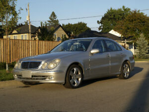 Lowest mileage Mercedes Benz w211 E500 in all of Canada