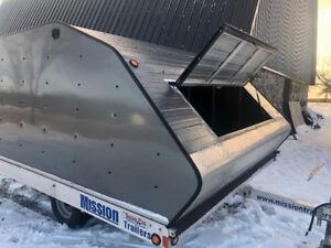 2013 ALUMINUM MISSION SNOWMOBILE TRAILER