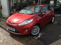 2008 (58) Ford Fiesta 1.6TDCi Titanium *1 Owner,£20 Tax* (Finance Available)