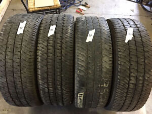4 Michelin LTX A/T2 - LT275/70/18 - 50%-60% - $100 For All 4