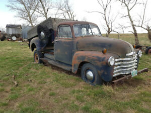 1952 Chevy Pickup - Great Start to a Restoration!