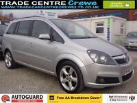 2006 VAUXHALL ZAFIRA 1.9 SRI 150 CDTI DIESEL 7 SEAT MPV CAR FINANCE FROM £25 P/W