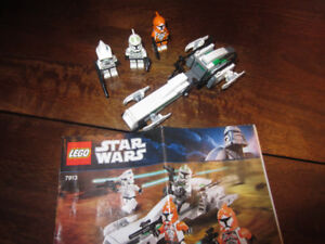 Leg Star Wars - Clone Trooper battle pack -Set 7913 discontinued