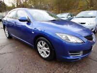 Mazda 6 2.2D TS 163PS (1 OWNER + FULL SERVICE HISTORY) (blue) 2010