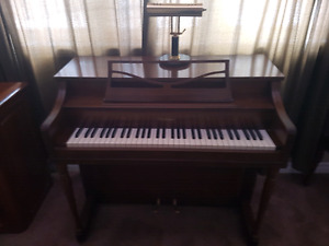 70 year old heirloom apartment size piano