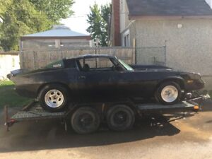 1979 camaro drag or street rolling chassis course