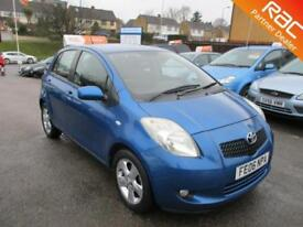 2006 Toyota Yaris Hatch 5Dr 1.3VVTi 87 T Spirit Petrol blue Manual