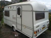 Lunar Clubman 400-2 Caravan Excellent Condition All Working Winter Bargain!