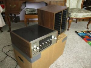 ESTATE PIONEER EIGHT TRACK PLAYER AND EARLY TAPES